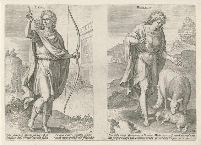 Stamvaders Jozef en Benjamin