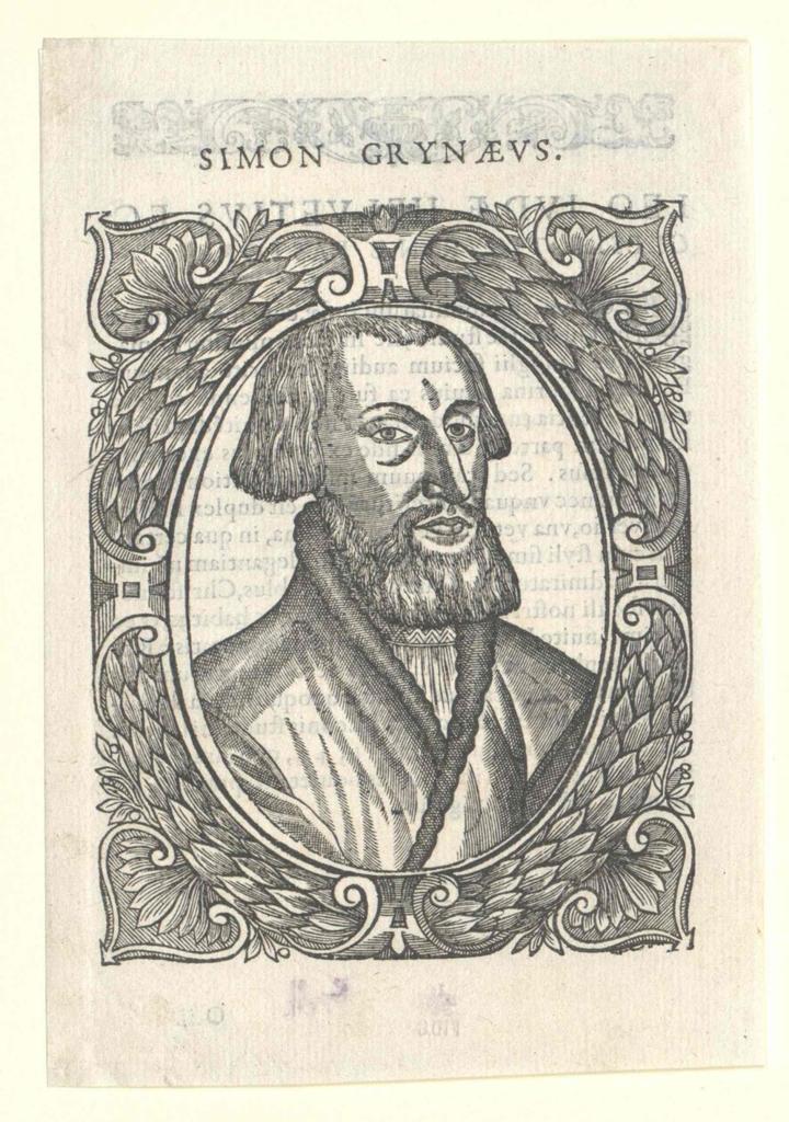 Grynaeus, Simon