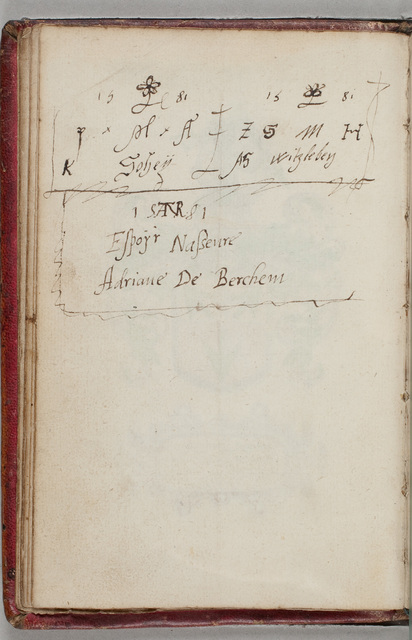 Albuminscriptie / van A.S. Witzleben, voor [Johan] Roelofs