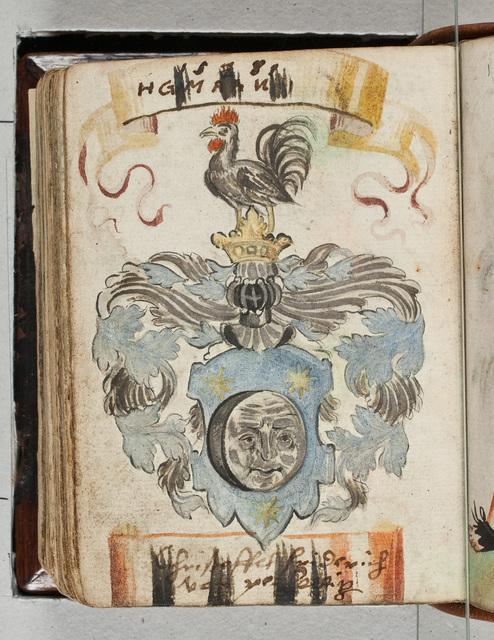 Albuminscriptie / van Christoffel Friderich von Perlegnitz(?), voor Bernardus Paludanus (1550-1633)
