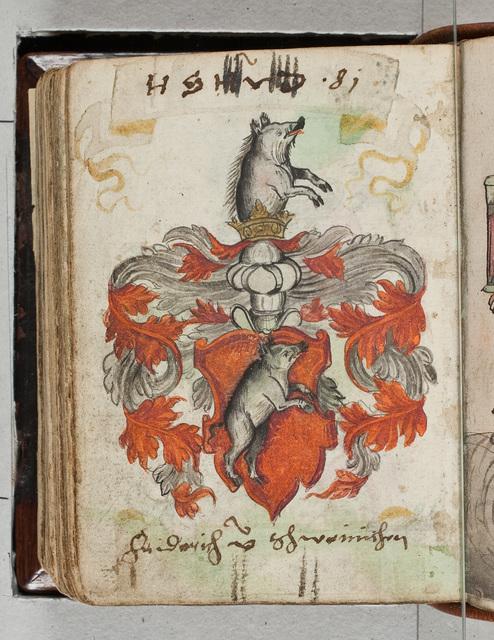 Albuminscriptie / van Friederich von Schweinischen, voor Bernardus Paludanus (1550-1633)