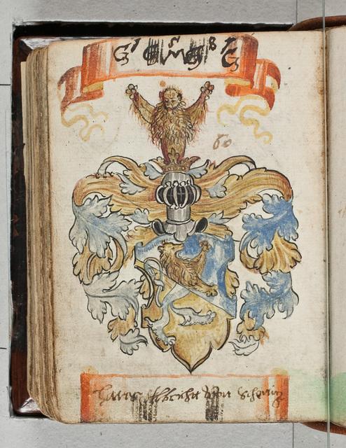 Albuminscriptie / van Hans Albrechtt von Scherlig, voor Bernardus Paludanus (1550-1633)