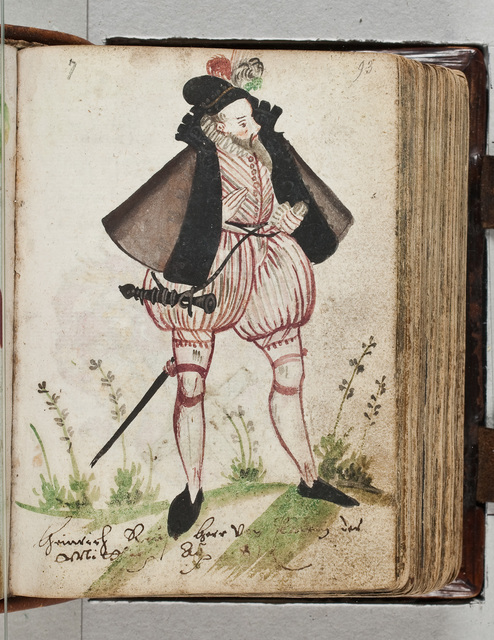 Albuminscriptie / van Heinrich Reuss, Herr von Plauen der Mittler, voor Bernardus Paludanus (1550-1633)