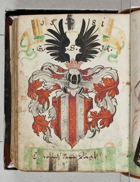 Albuminscriptie / van *** von ***, voor Bernardus Paludanus (1550-1633)