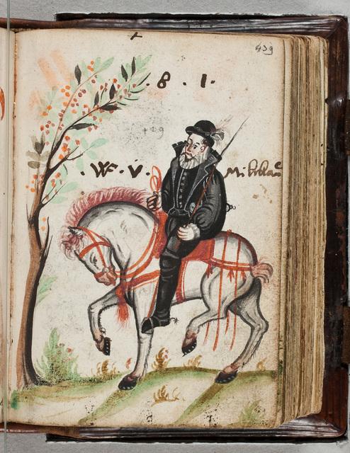Albuminscriptie / van W.F. von Milchau, voor Bernardus Paludanus (1550-1633)