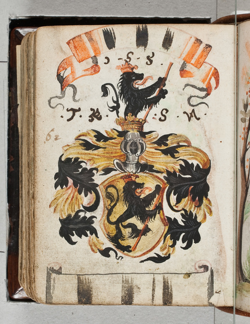 Albuminscriptie / van W.F. von Milckau, voor Bernardus Paludanus (1550-1633)