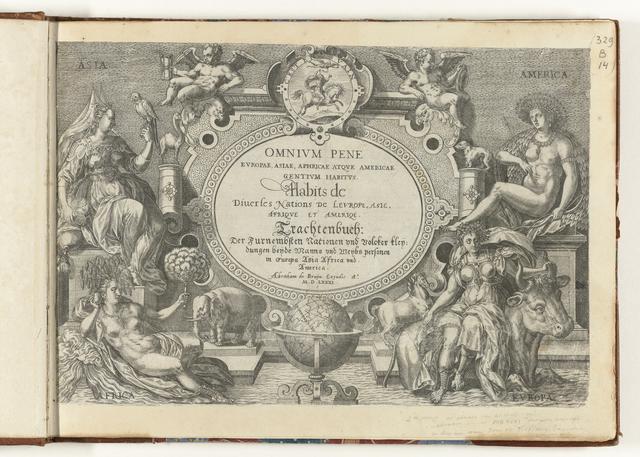 Omnium pene Europae, Asiae, Aphricae, Americae gentium habitus