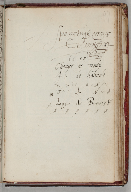 Albuminscriptie / van Loyse de Ranst, voor [Johan] Roelofs