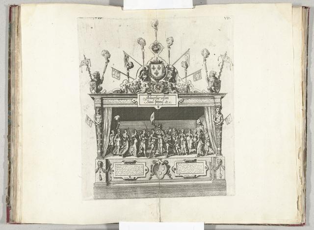 Het toneel met het verbond van David en Jonathan, 1582
