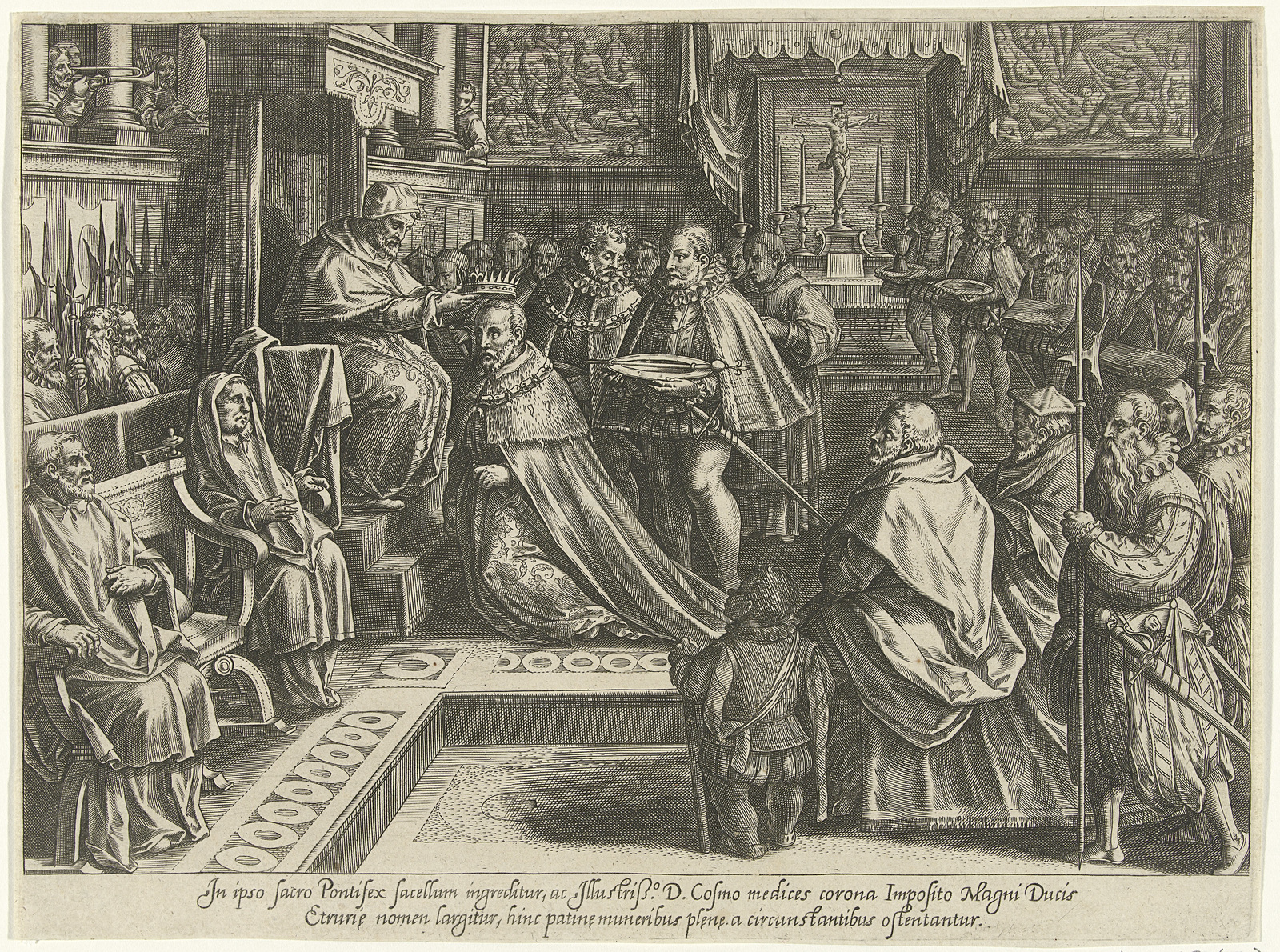 Kroning van Cosimo De' Medici in 1569