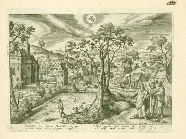April: sterrebeeld Stier: Christus vertelt de parabel van de zaaier.