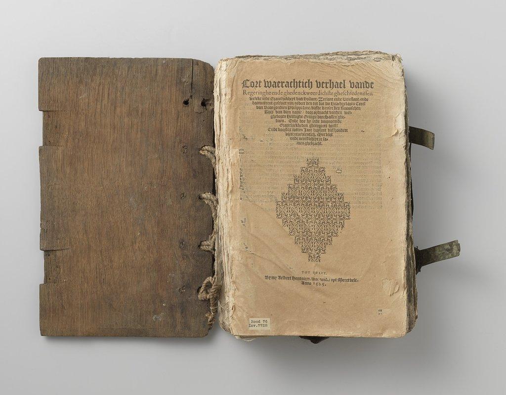 Die cronycke van Hollant, Zeelant ende Vrieslant tot den jare 1517 etc. tot Delft