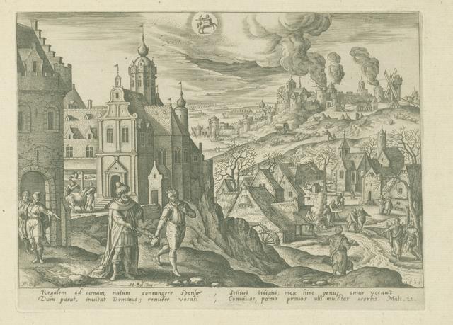 November: sterrenbeeld Boogschutter. De parabel van de de koning en het feestmaal. (Matt. 22)