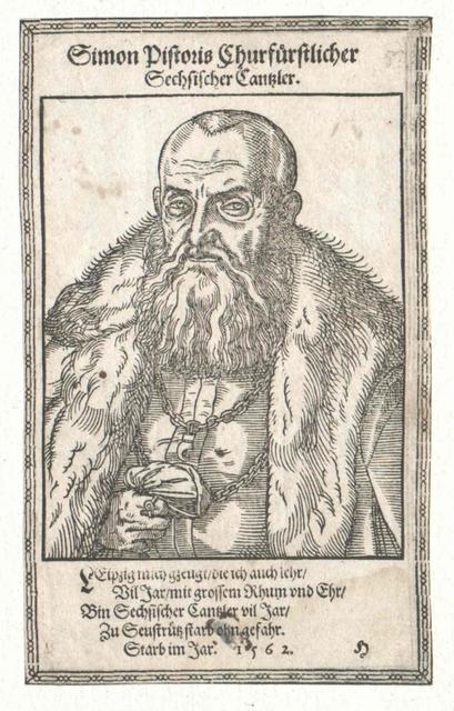 Pistoris von Seußlitz, Simon