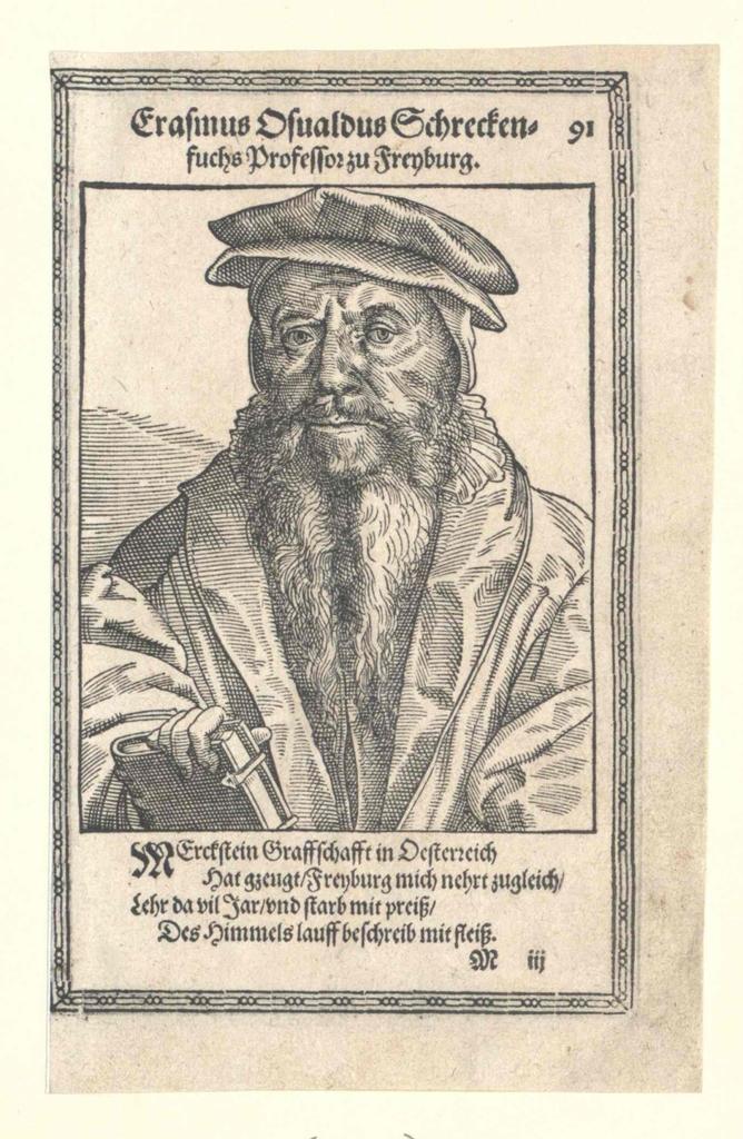 Schreckenfuchs, Erasmus Oswald