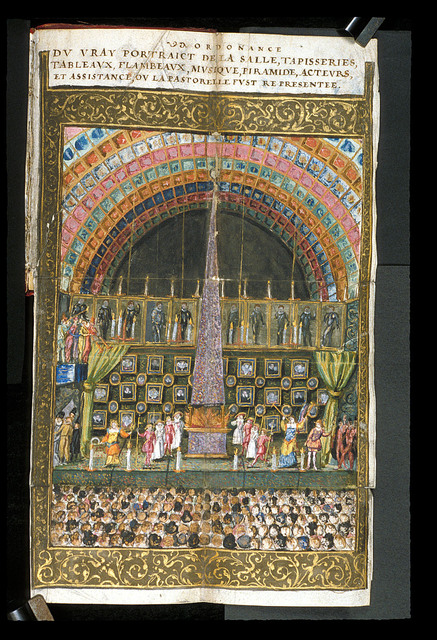 Theatre from BL Harley 4325, f. 58