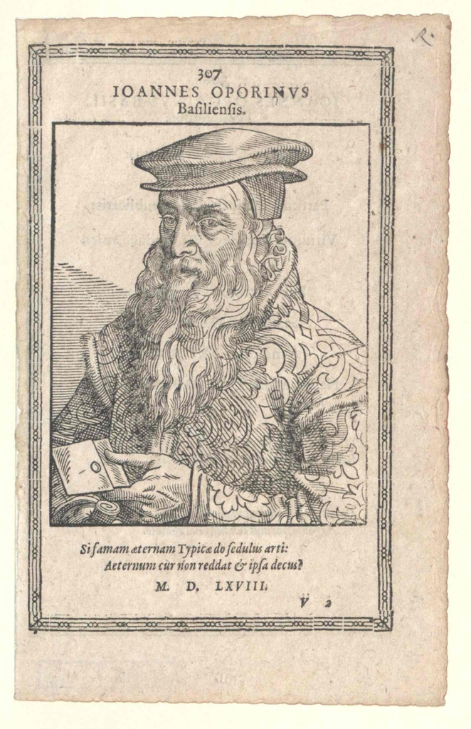 Oporinus, Johannes