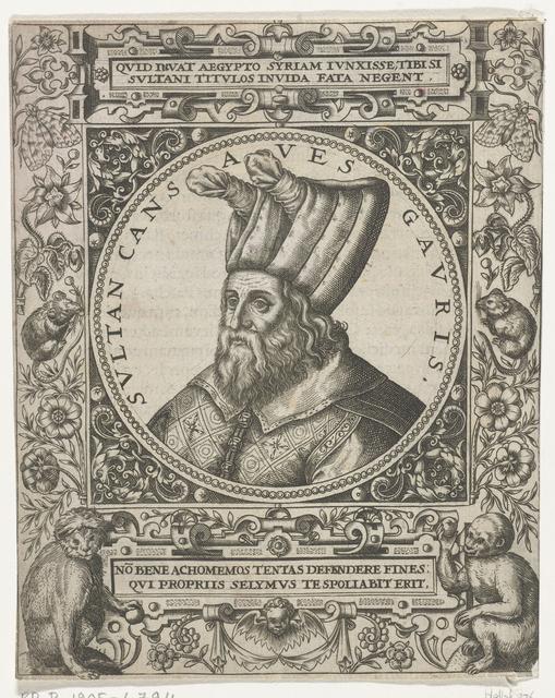 Portret van de sultan Cansaves Gauris