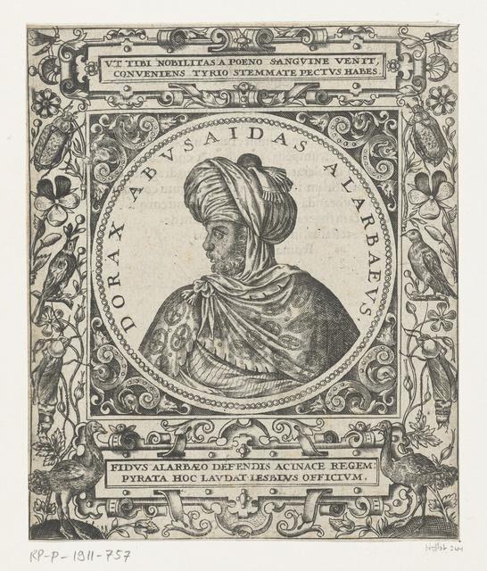 Portret van de sultan Dorax Abusaidas Alarbaeus