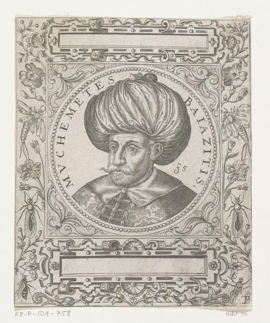 Portret van de sultan Muchemetes Bayazid