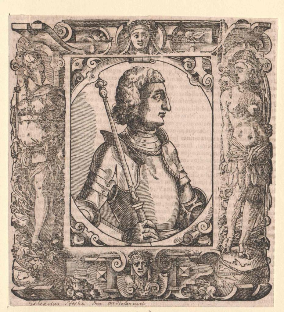 Sforza, Galeazzo Maria Herzog von Mailand