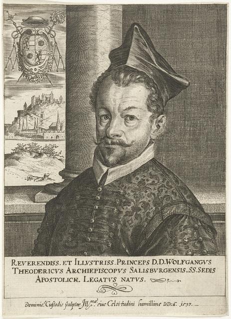 Portret van Wolf Dietrich von Raitenau, aartsbisschop van Salzburg