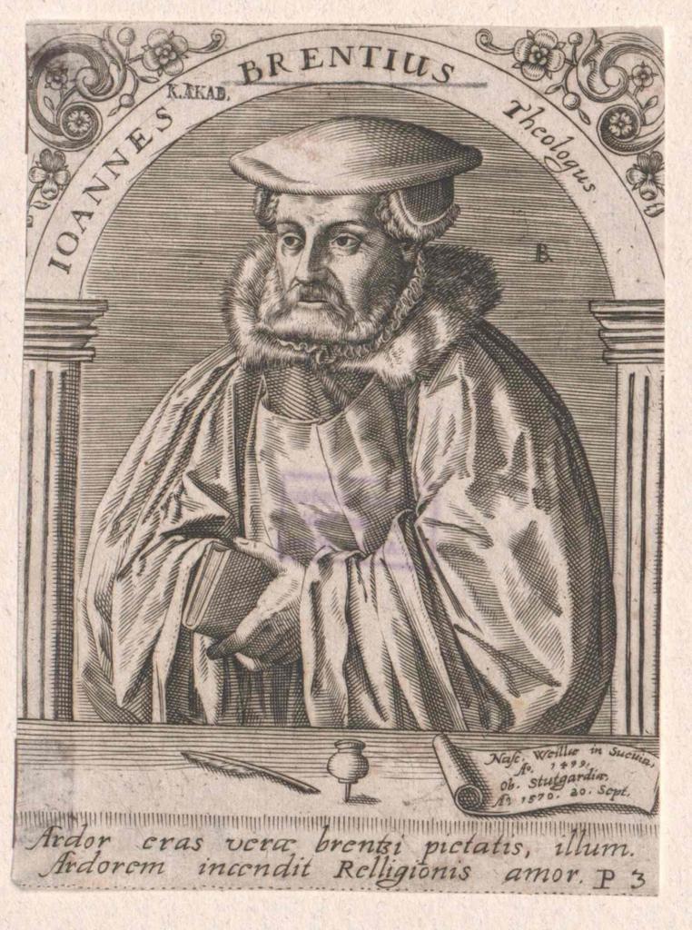 Brentius, Johannes