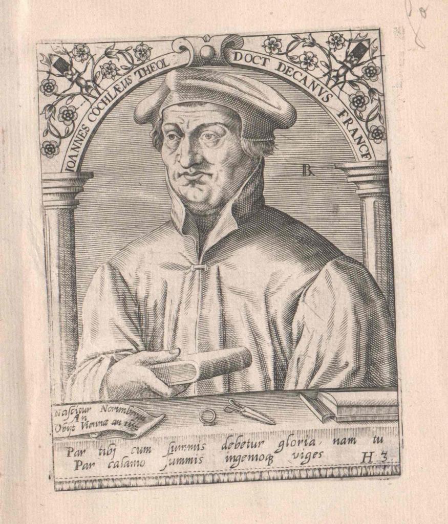 Cochlaeus, Johannes