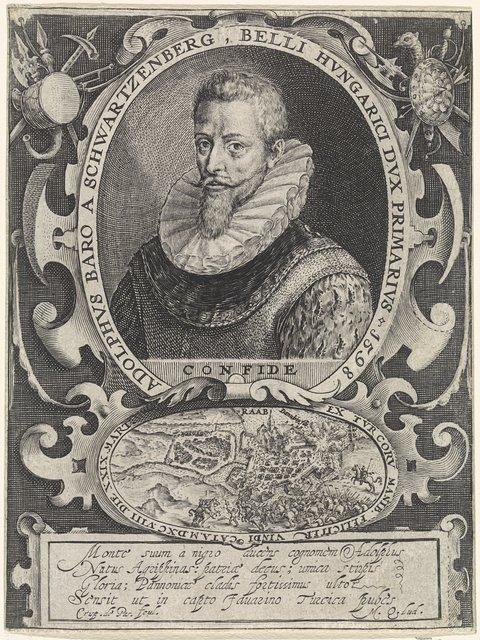 Portret van Adolf von Schwarzenberg
