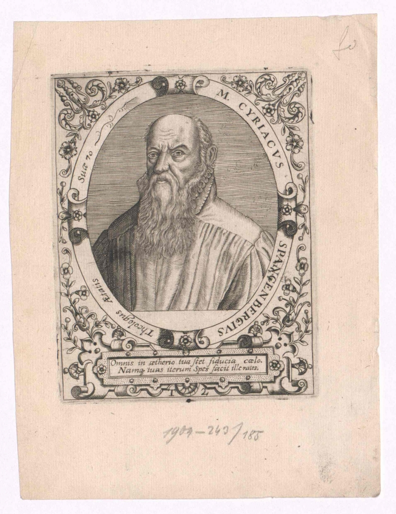 Spangenberg, Cyriacus
