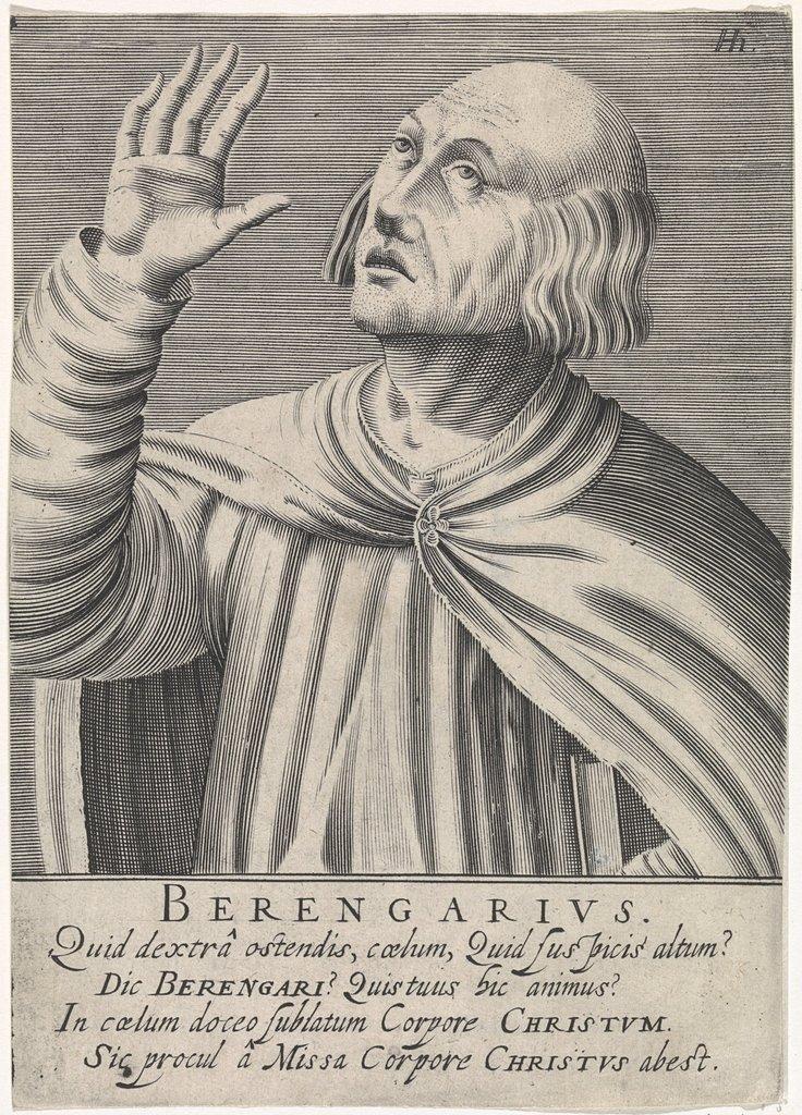Portret van Archdeacon of Angers Berenger