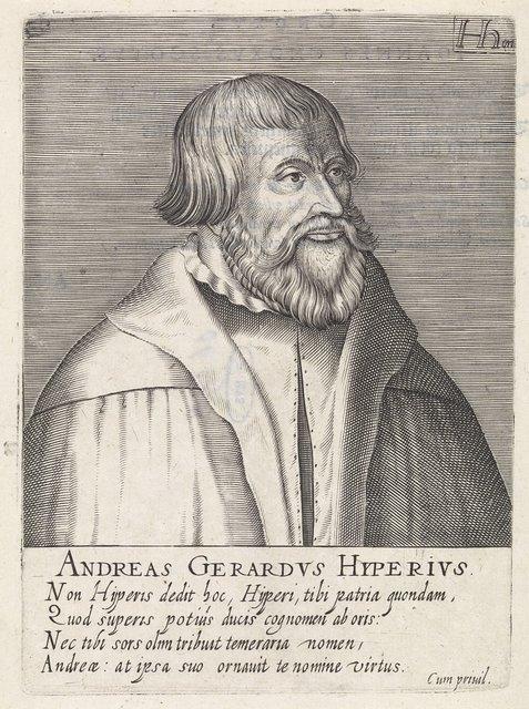 Portret van Gerard Andrew Hyperius