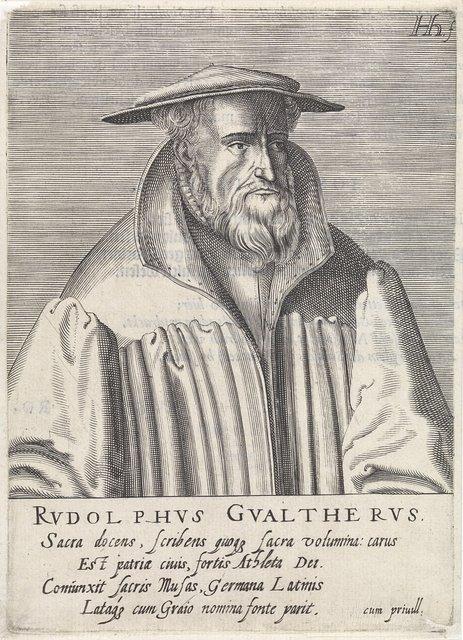 Portret van Rodolphus Gualterus