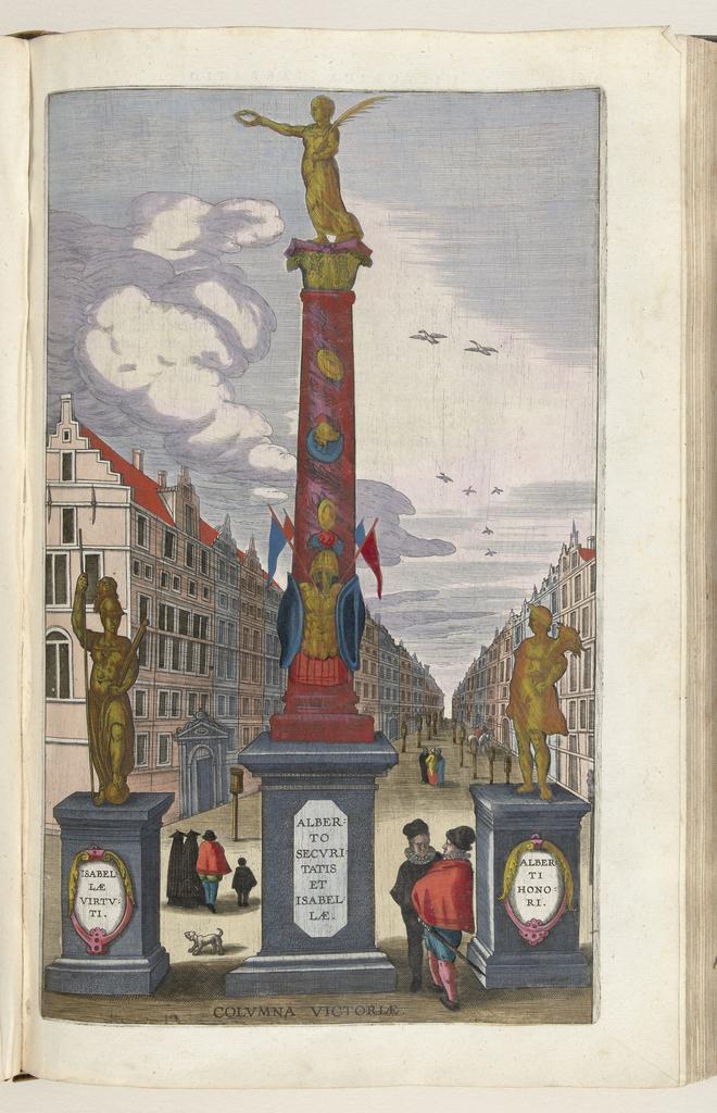Zuil der Overwinning, 1599