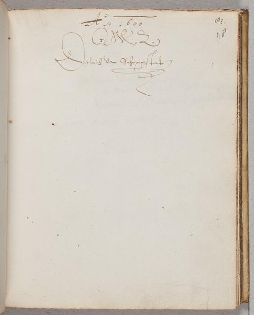 Albuminscriptie / van Dieterich von Scheppstat, voor David Mostart (ca. 1554-1615), leraar en notaris