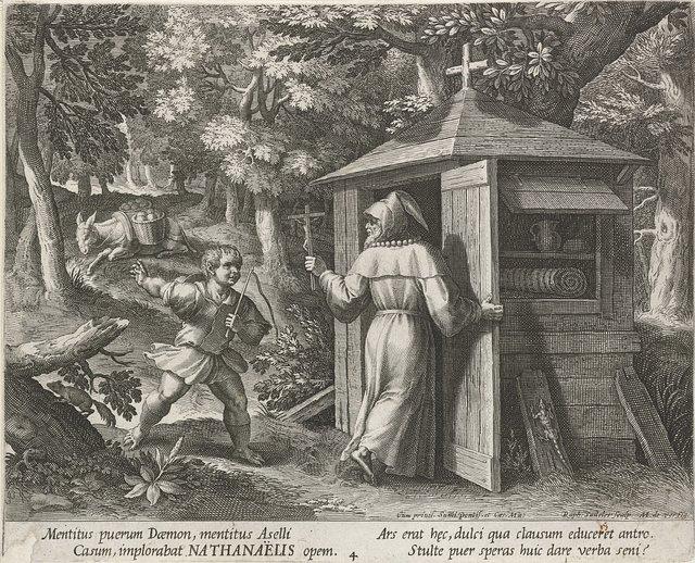 Heilige Bartholomeus als kluizenaar