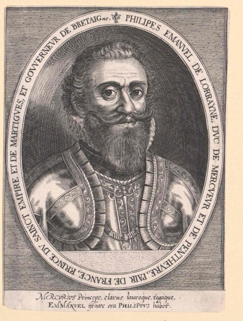 Philipp Emanuel von Lothringen, Herzog von Mercoeur