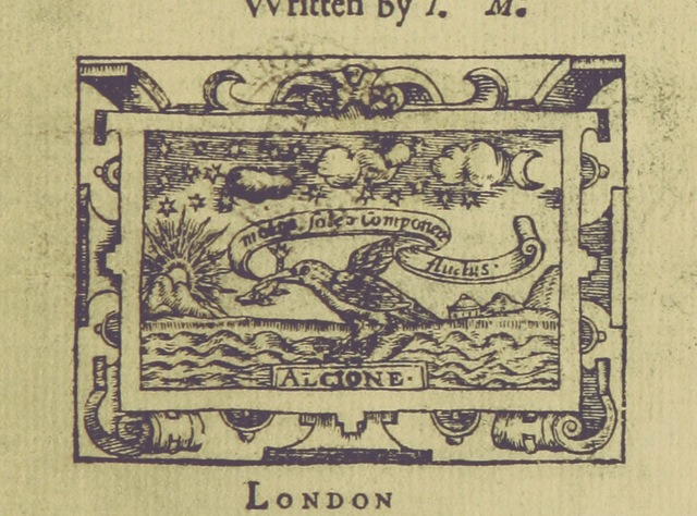 """Fish from """"[Antonio and Mellida.] The History of Antonio and Mellida. The first part. As it hath beene sundry times acted, by the children of Paules. Written by I. M. [i.e. J. Marston.]"""""""