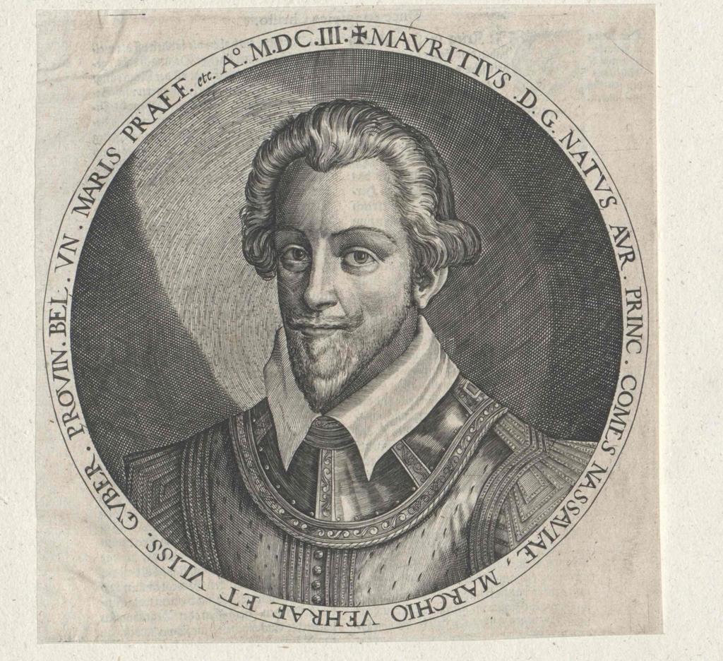 Moritz, Prinz von Oranien, Graf von Nassau