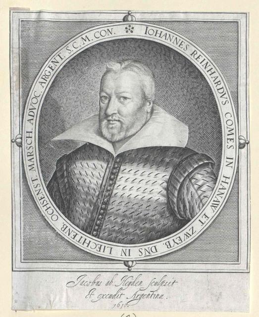 Hanau-Lichtenberg, Johann Reinhard Graf