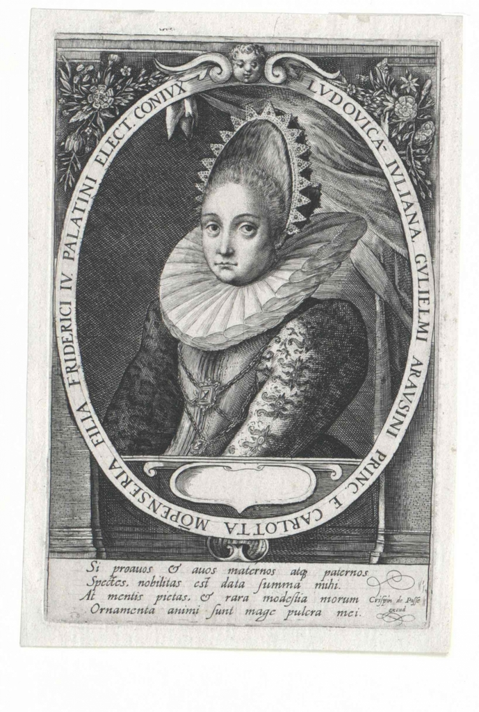 Luise Juliane, Prinzessin von Oranien, Gräfin von Nassau