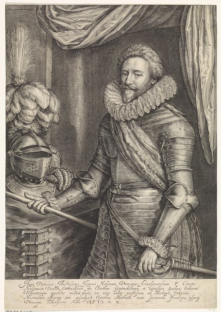 Portret Van Frederik Hendrik Prins Van Oranje Nassau