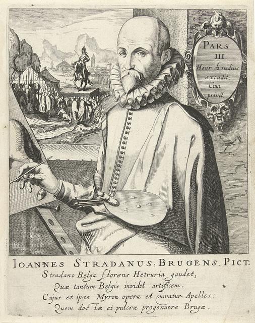 Portret van Jan van der Straet