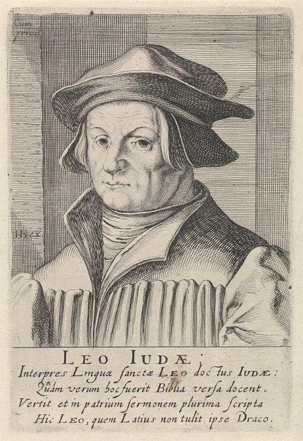 Portret van Leo von Juda