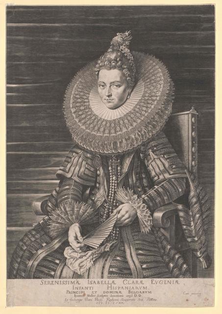 Isabella Klara Eugenia, Infantin von Spanien