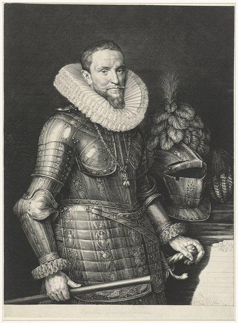 Portret van Ambrogio Spinola, markies de los Balbases