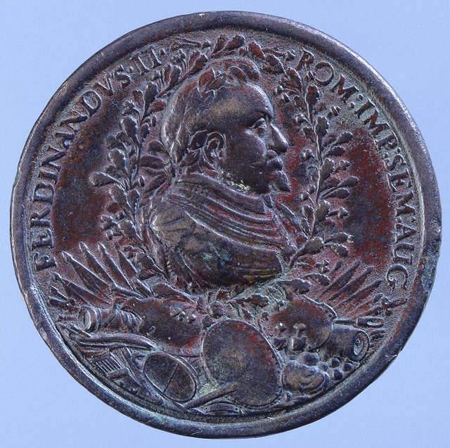 Kroning van Ferdinand II tot Duits keizer te Frankfurt
