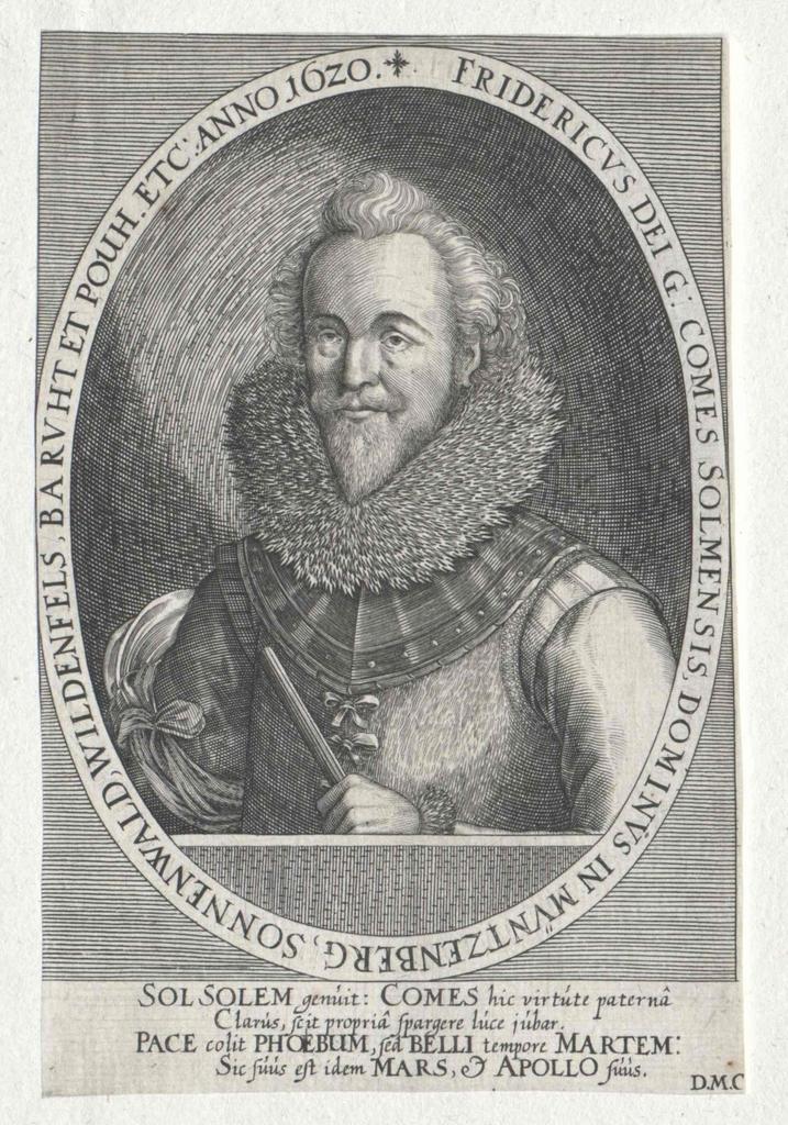 Solms-Rödelheim, Friedrich Graf zu