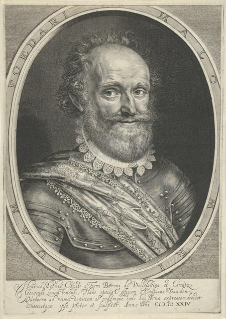 Portret van graaf Hendrik Matthias von Thurn