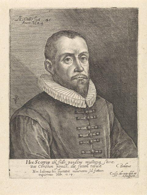 Portret van Thomas Scott